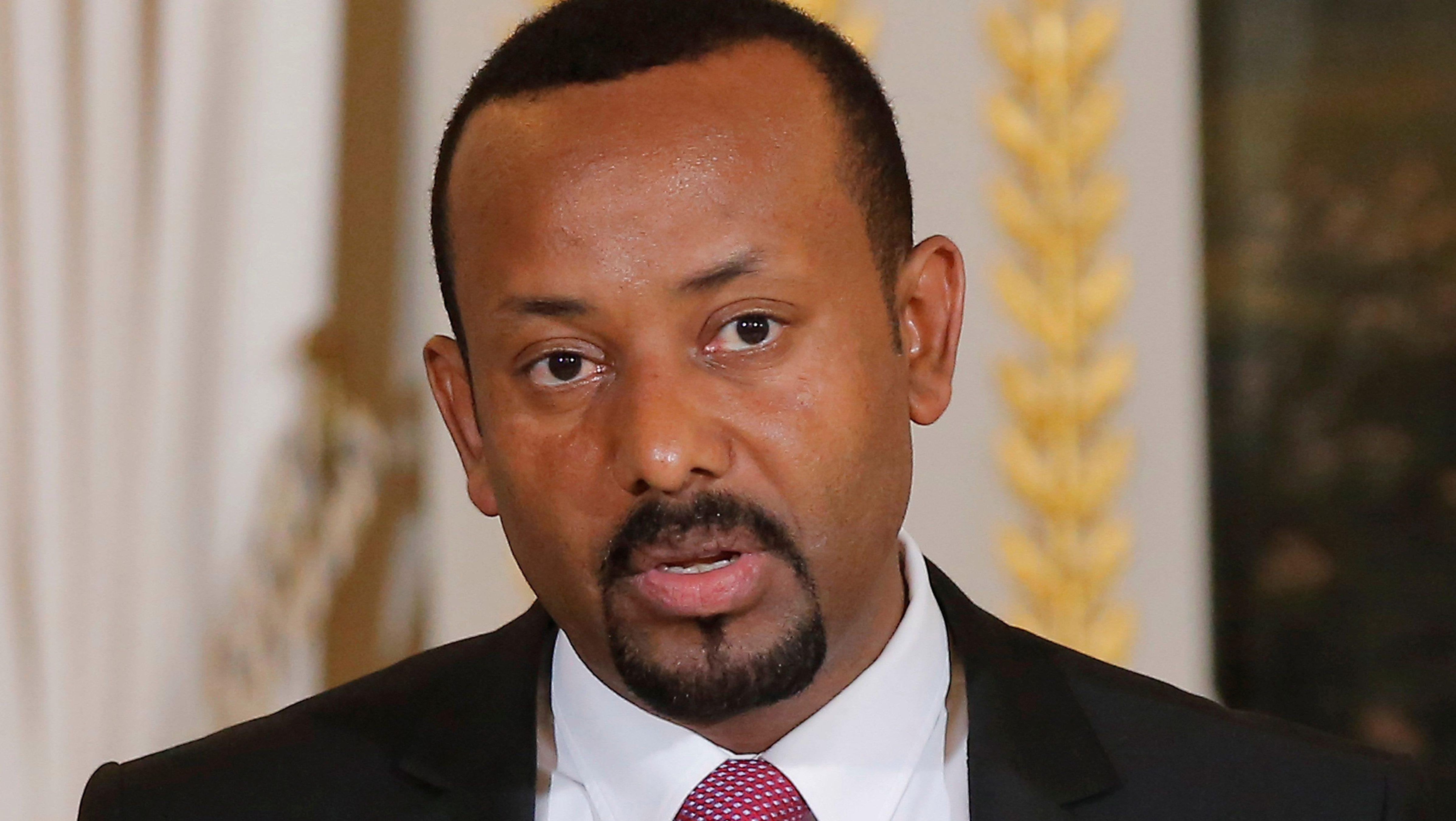 Ethiopian Prime Minister Abiy Ahmed.