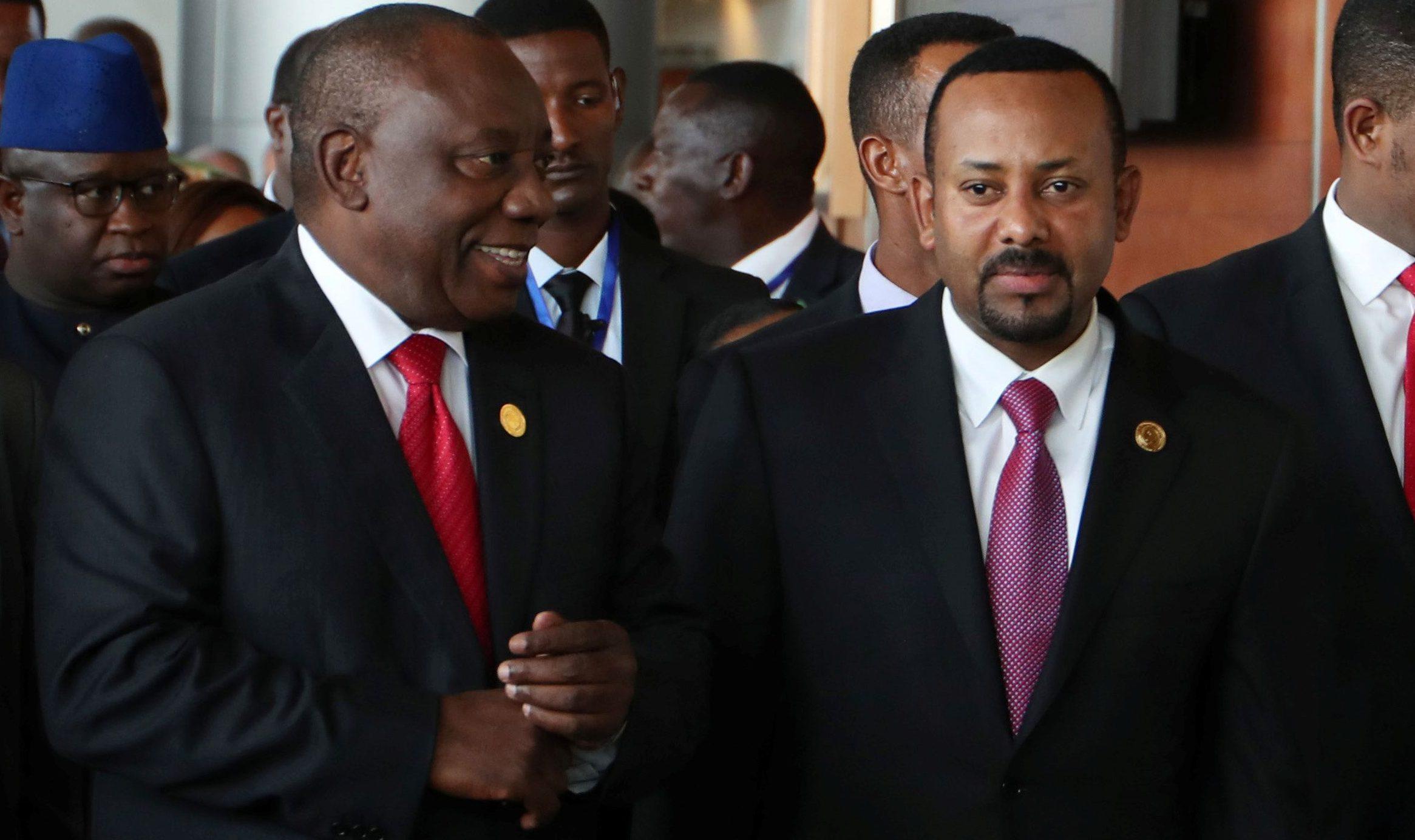 Time 100 list: Mo Salah, Ethiopia Abiy, Ramaphosa, Caster