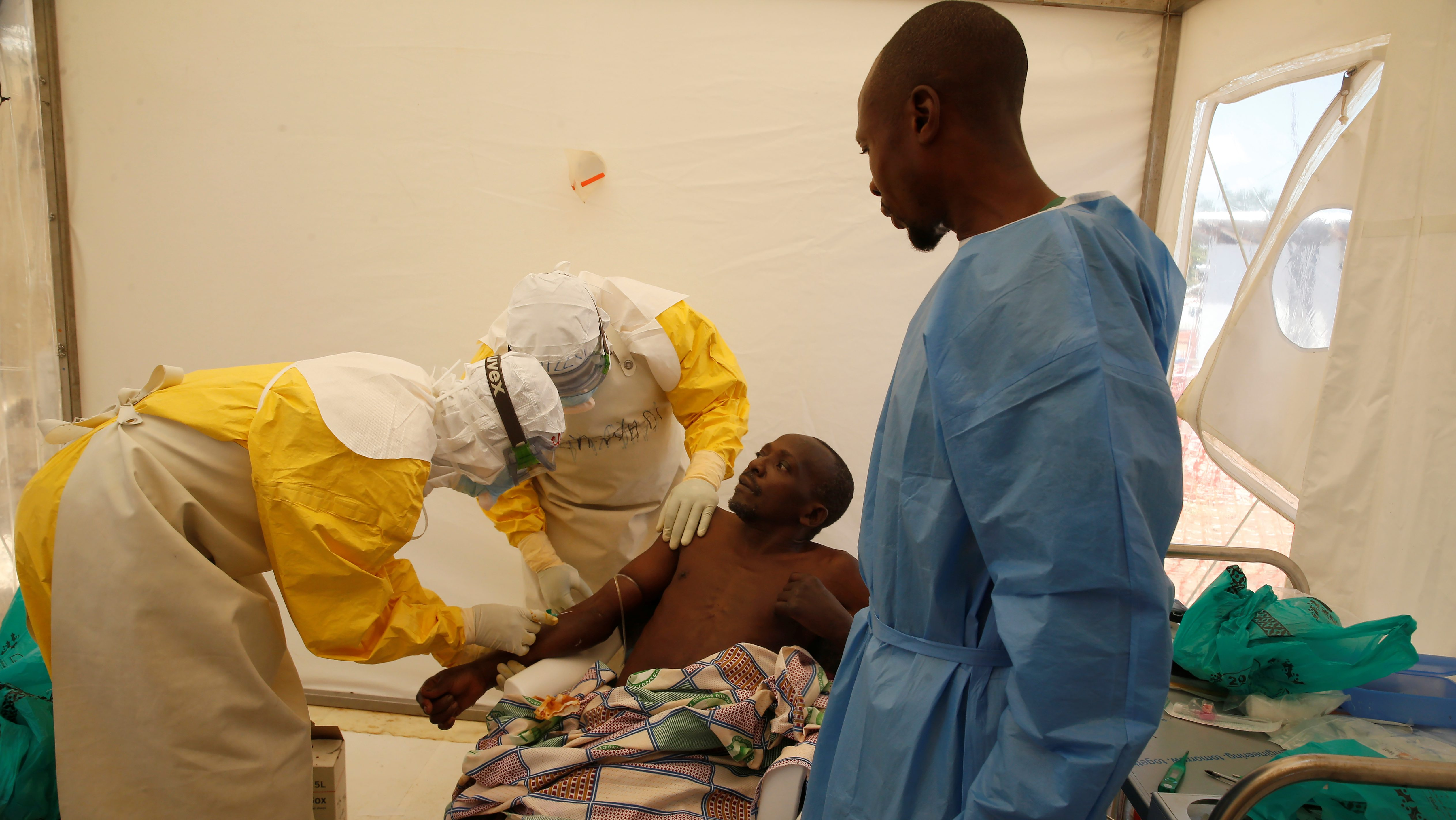 Ebola WHO Cameroon doctor killed in DR Congo