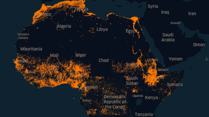 Facebook Africa map uses AI for potion density — Quartz Africa on map of the gambia, map of malaysia, map of norway, map of angola, map of africa, map of swaziland, map of tunisia, map of middle east, map of bahamas, map of ethiopia, map of morocco, map of somaliland, map of afghanistan, map of sudan, map of nepal, map of niger, map of yemen, map of kenya, map of burundi, map of tanzania,