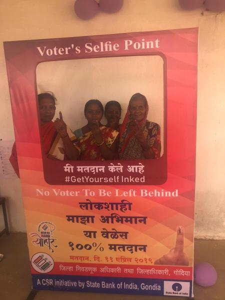 Voter's Selfie Point