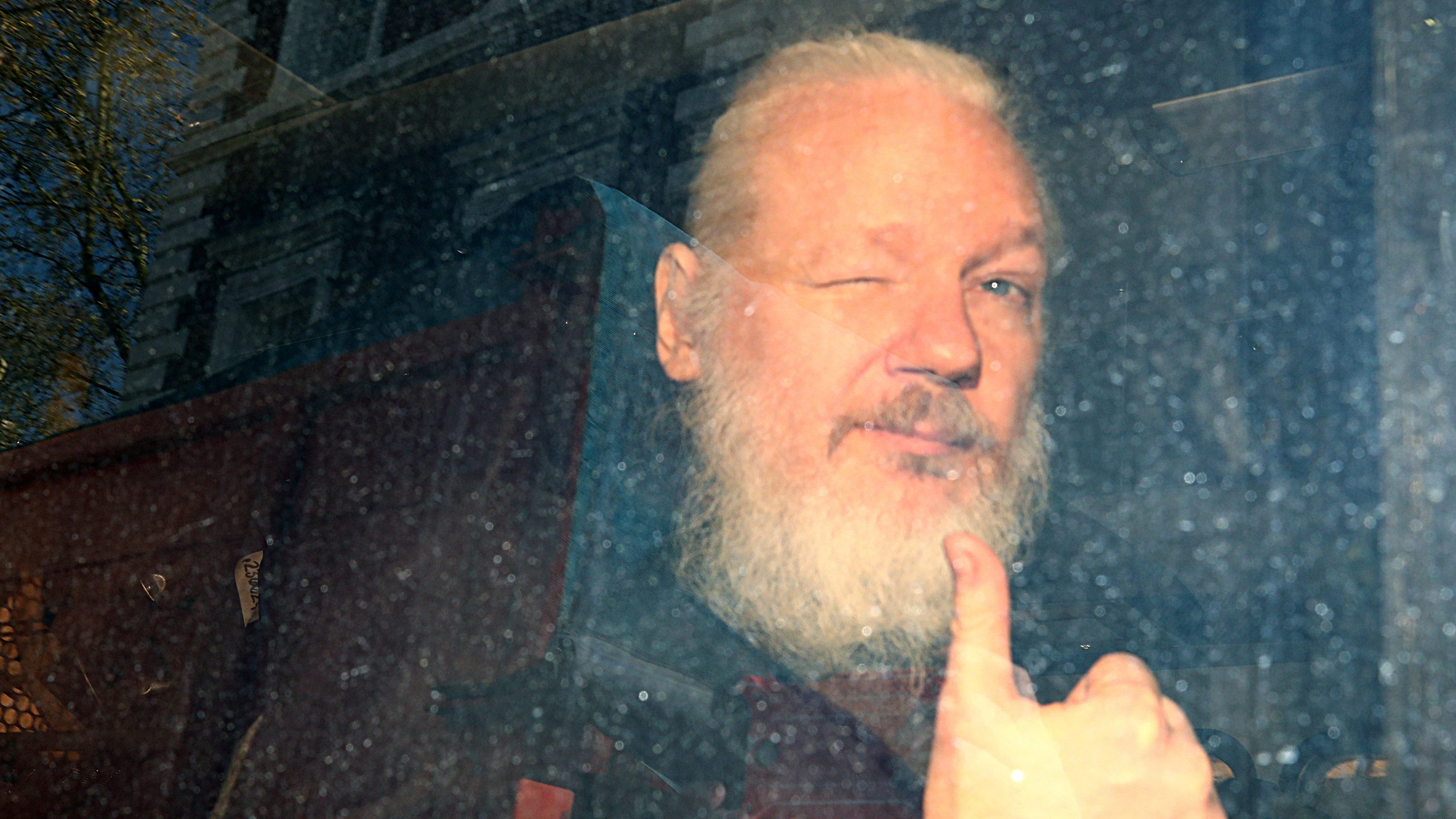 NSA lawyers explains Assange charges