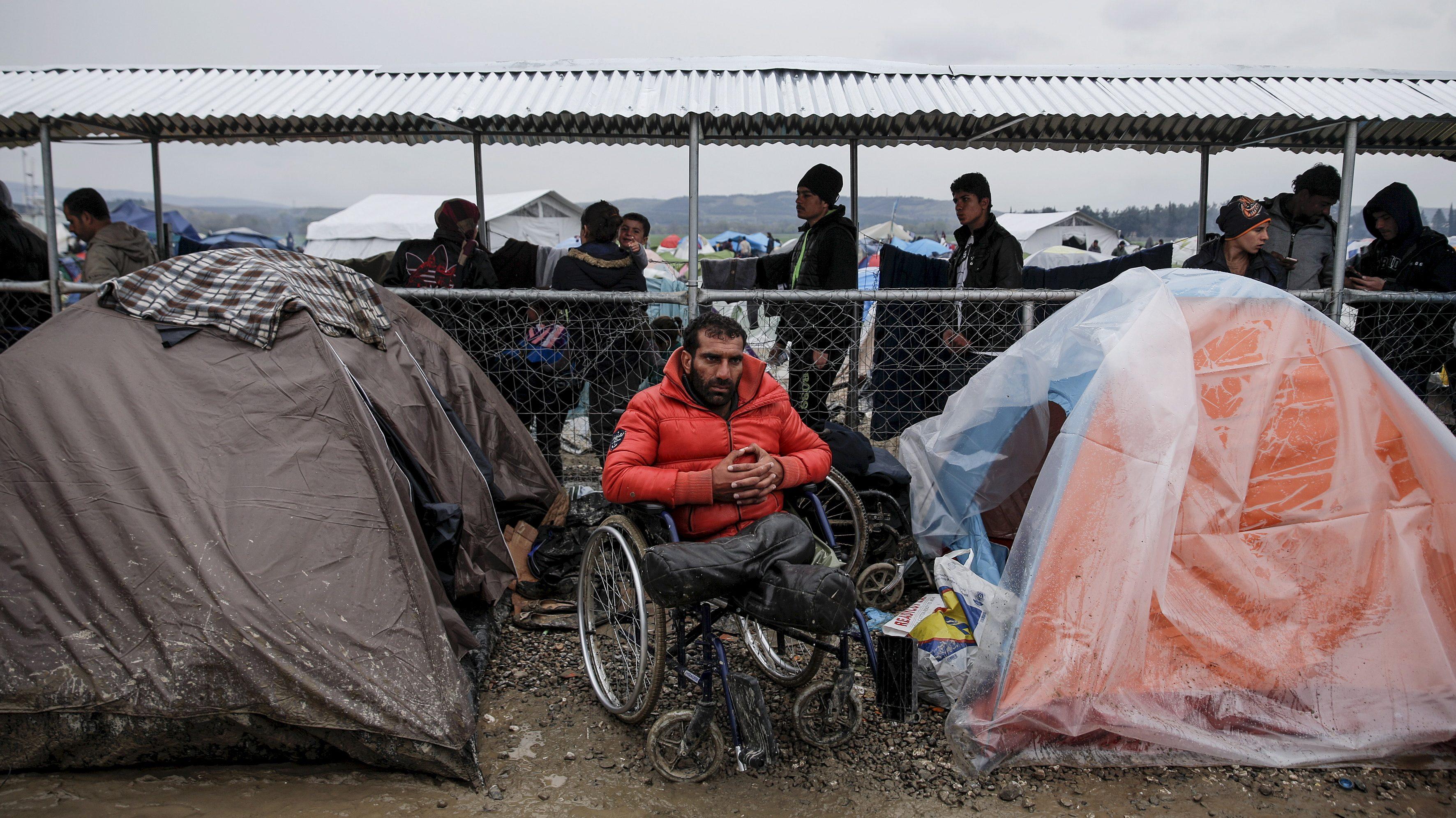 Syrian refugee Radwan Sheikho