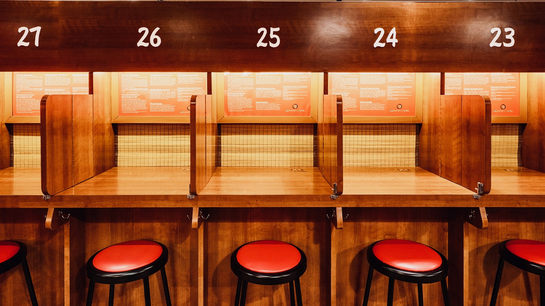 A cult Japanese ramen shop is making New York's Times Square a place for silent contemplation