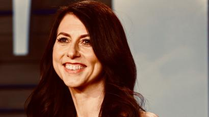 MacKenzie Bezos doesn't seem to want us to get to know her.