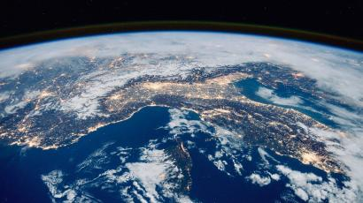 Earth from the International Space Station.