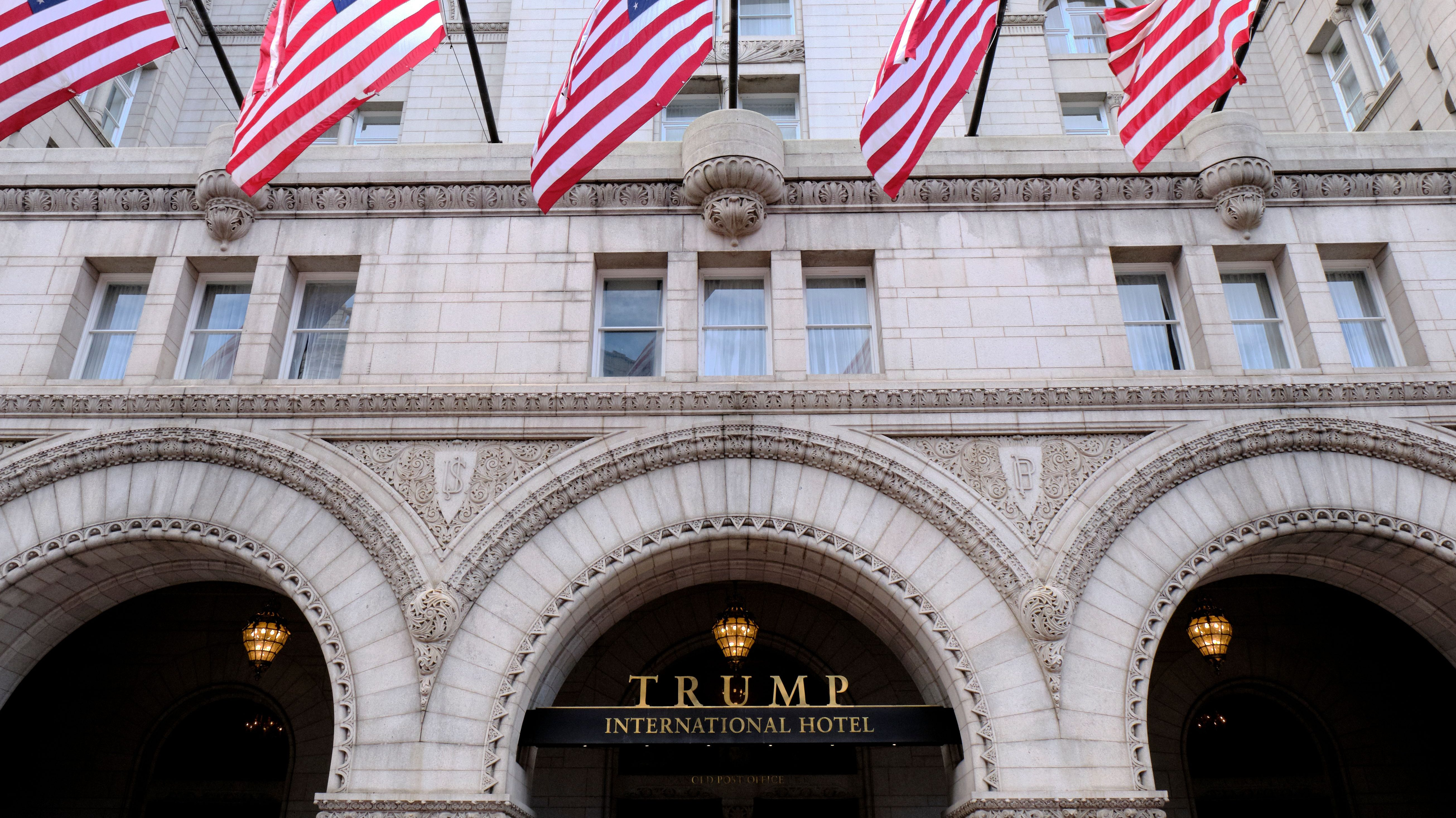 GOP spends millions at Trump properties