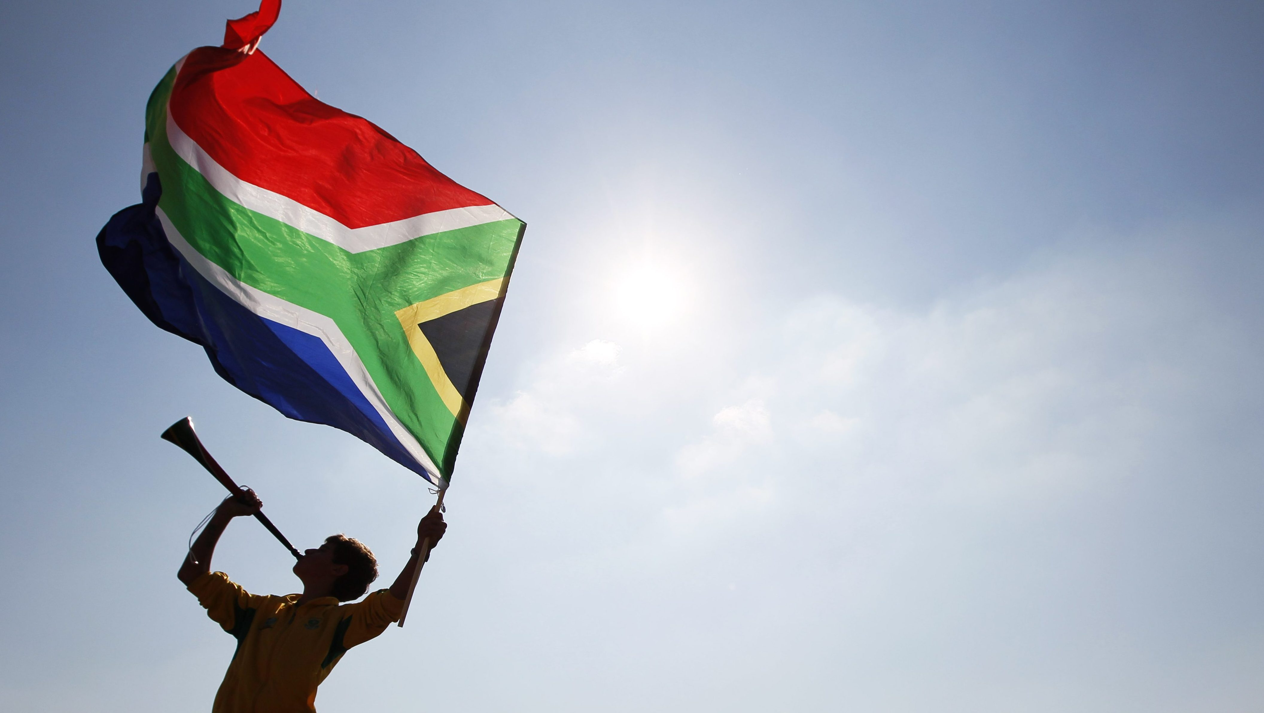 Fred Brownell, the designer of South Africa's flag has died