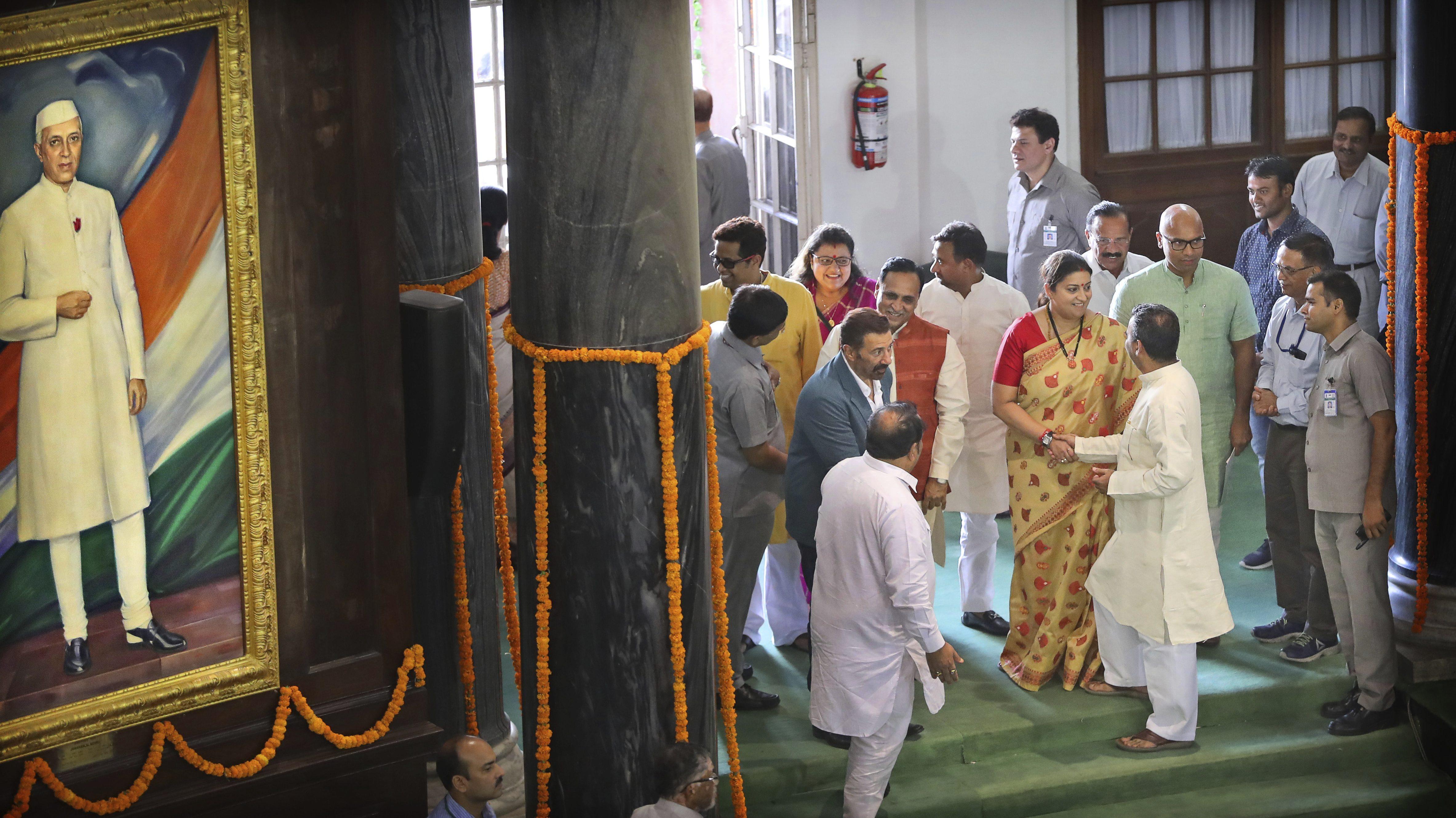 Smriti Irani, Pragya Thakur to be among India's 77 new women MPs