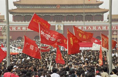 The 1989 Tiananmen student leaders on China's most-wanted