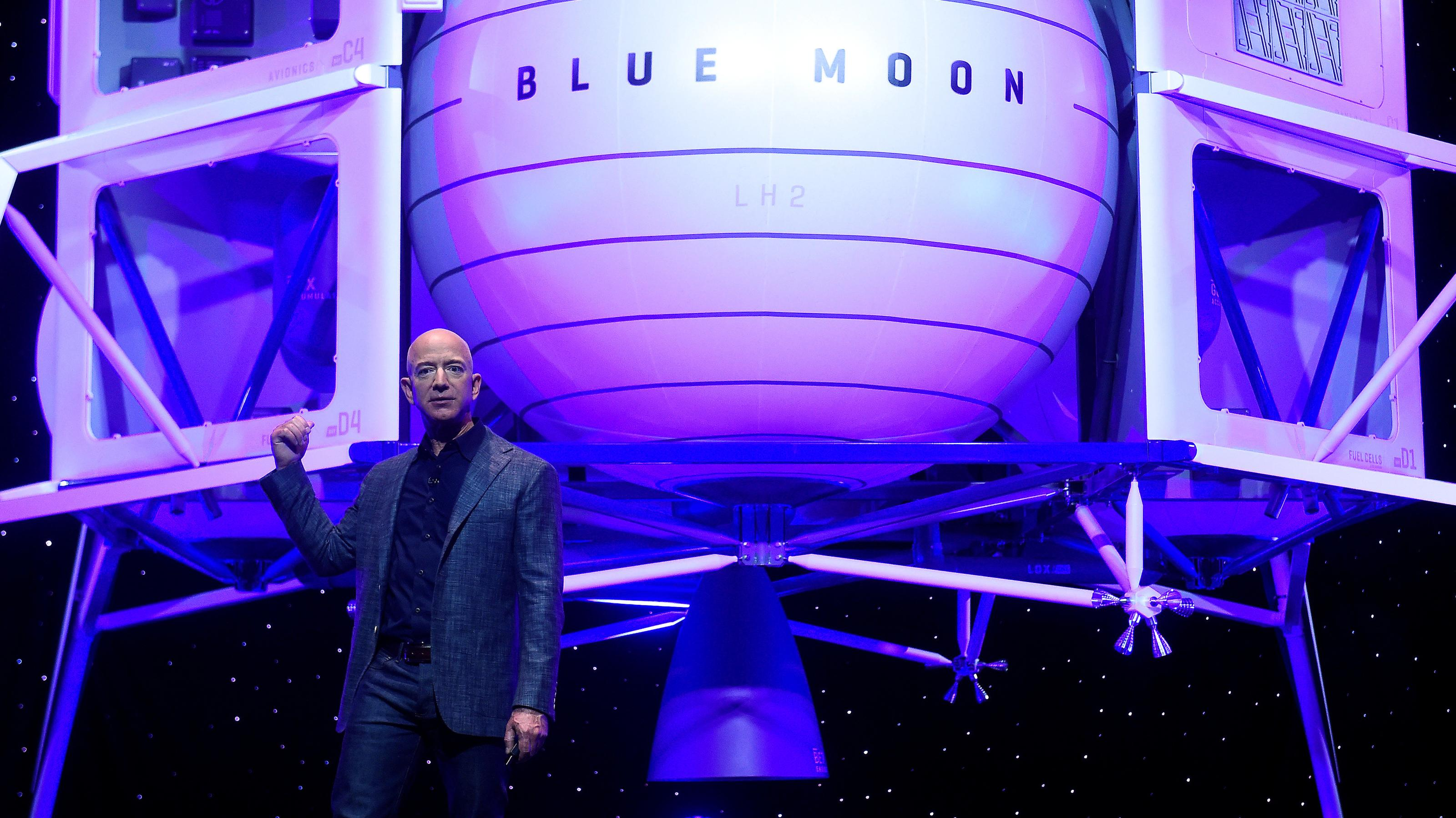 Amazon's most lucrative business is headed to space