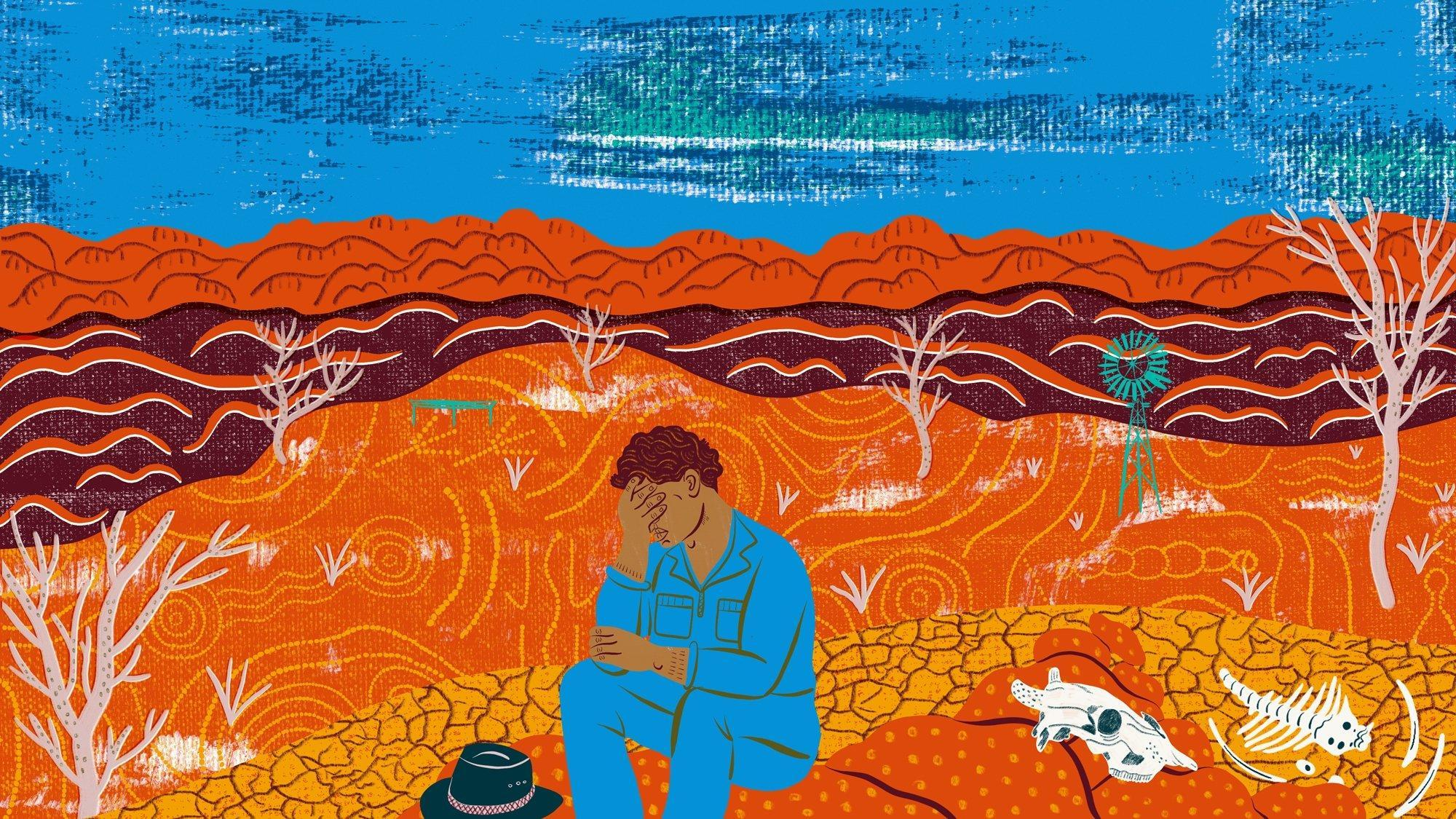 Aboriginal approach to mental health