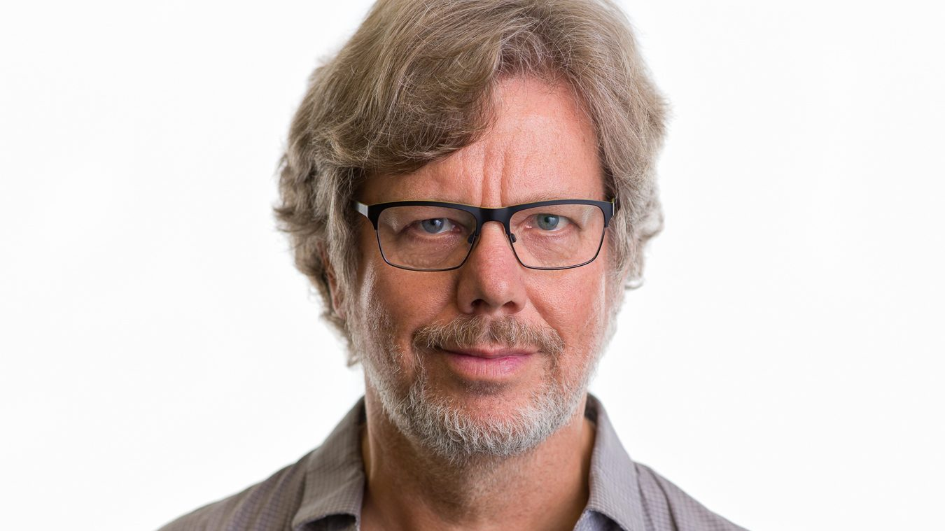 A picture of Python's creator Guido van Rossum.