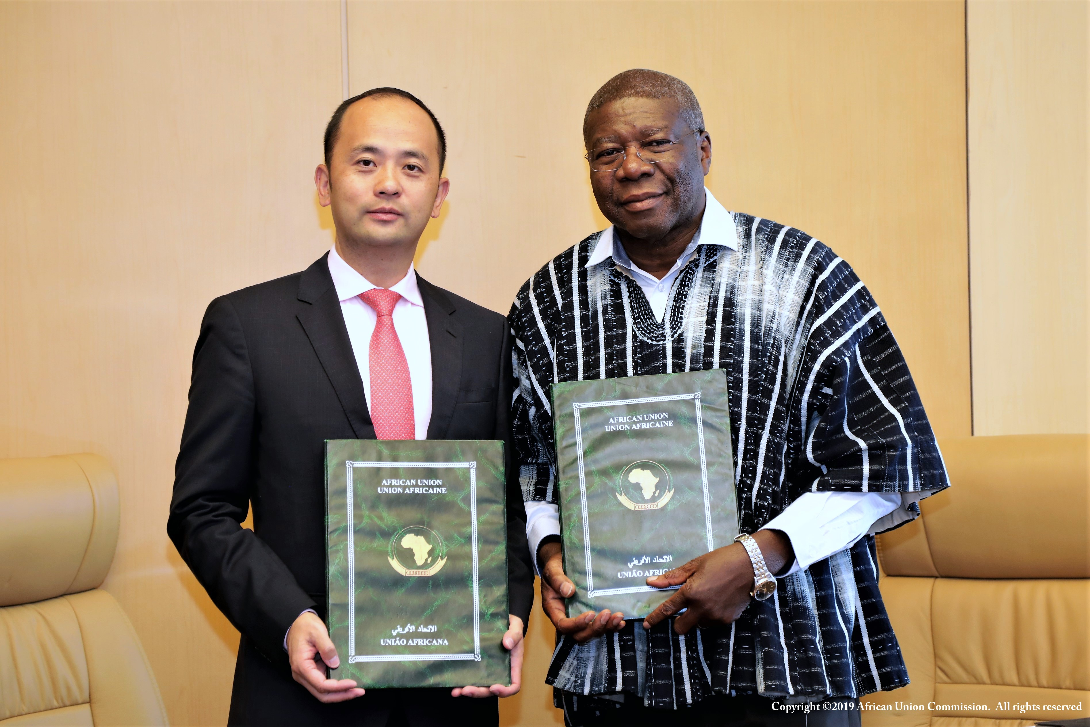 Huawei signs deal African Union