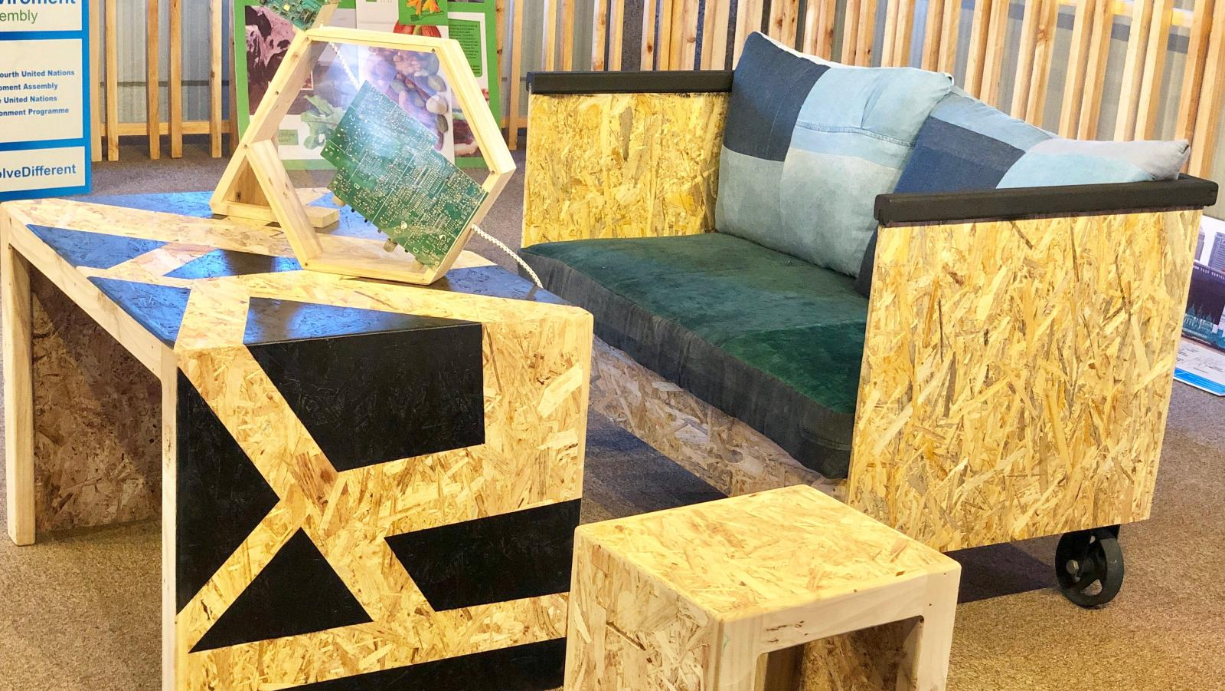 Waste To Make Eco Friendly Furniture