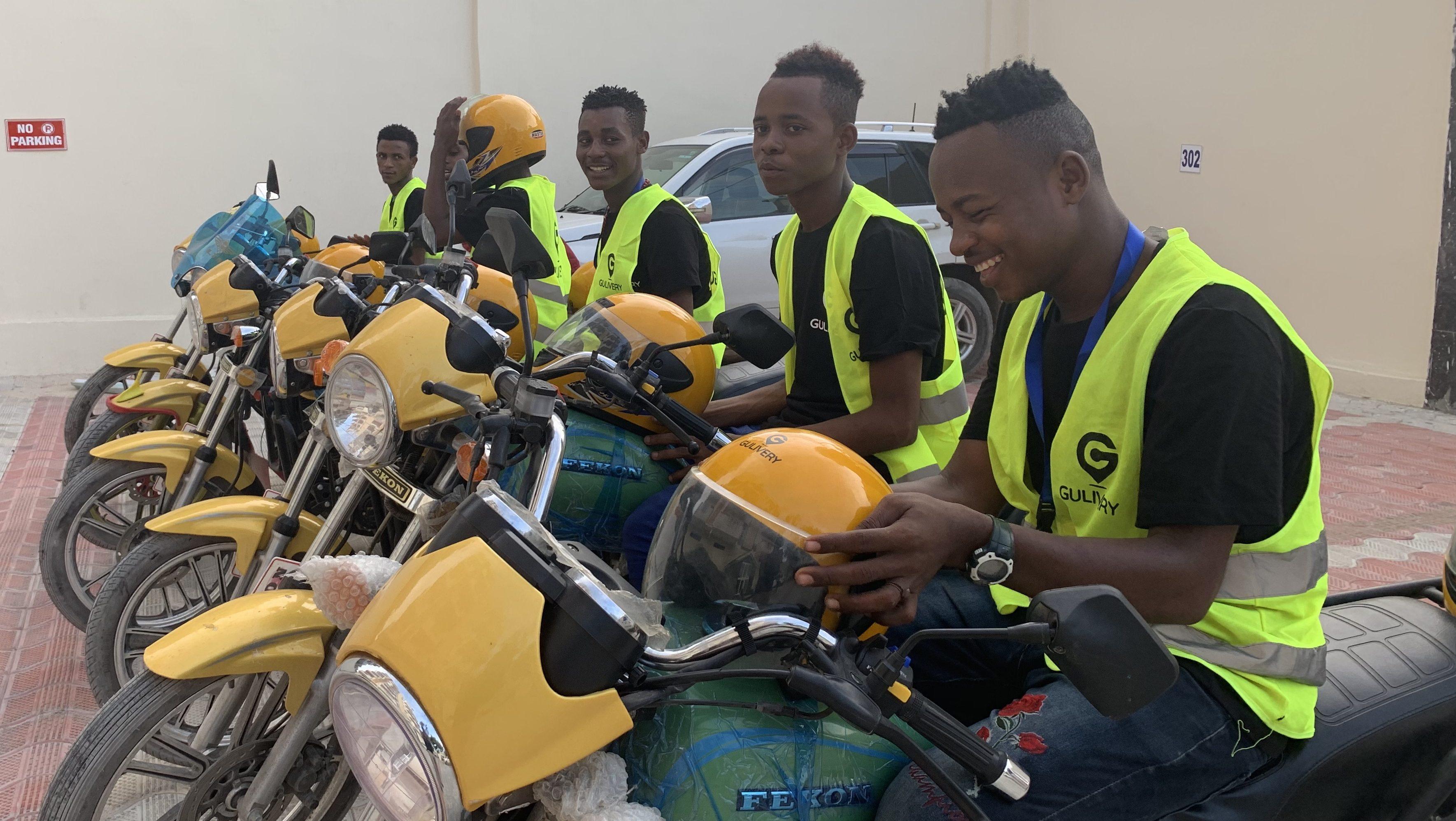 Mogadishu, Somalia moto-hailing app Go!