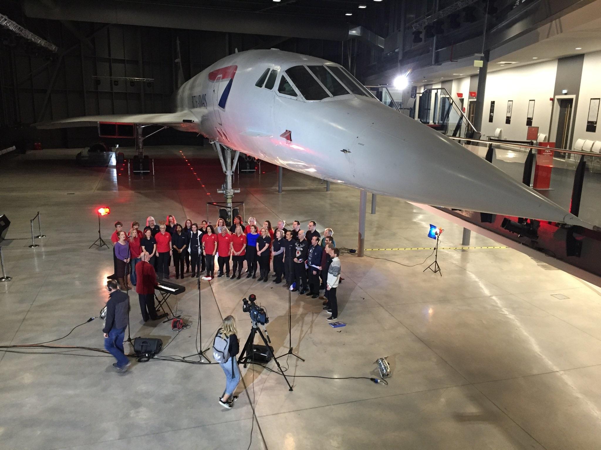 The Airbus choir