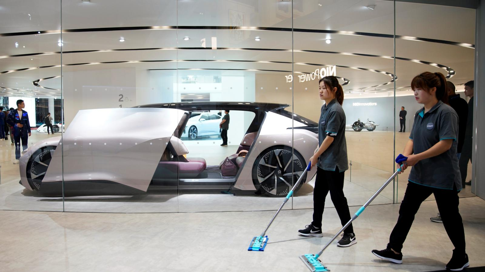 Nio The Electric Car Maker Is Getting A Bailout From Beijing Quartz