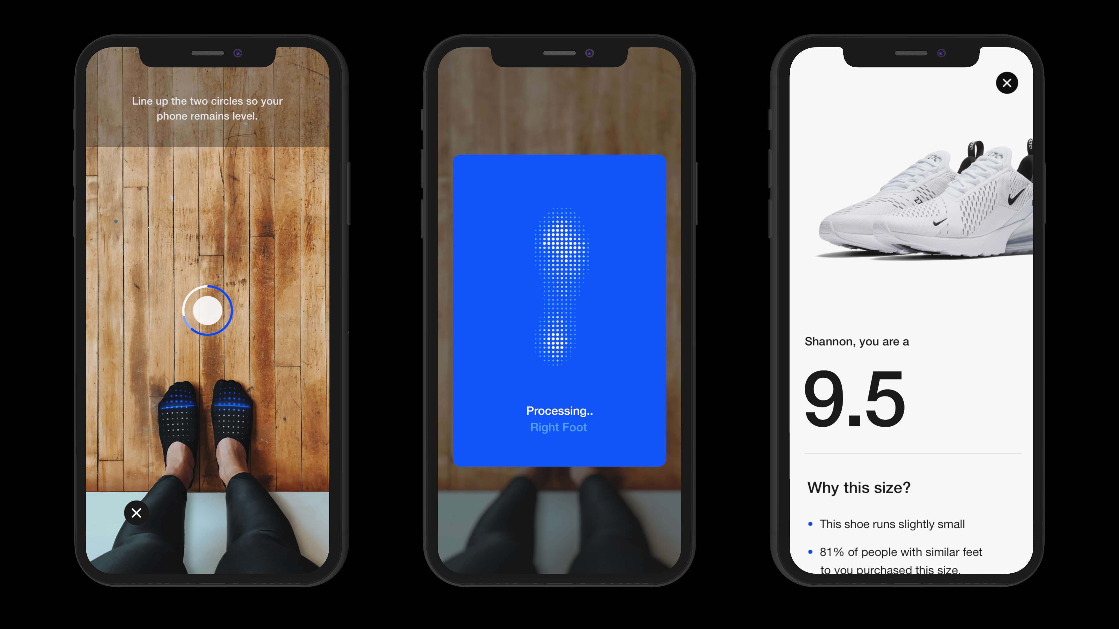 5760b6fe4d Nike Fit is Nike's new tech to ensure correct sneaker size — Quartzy