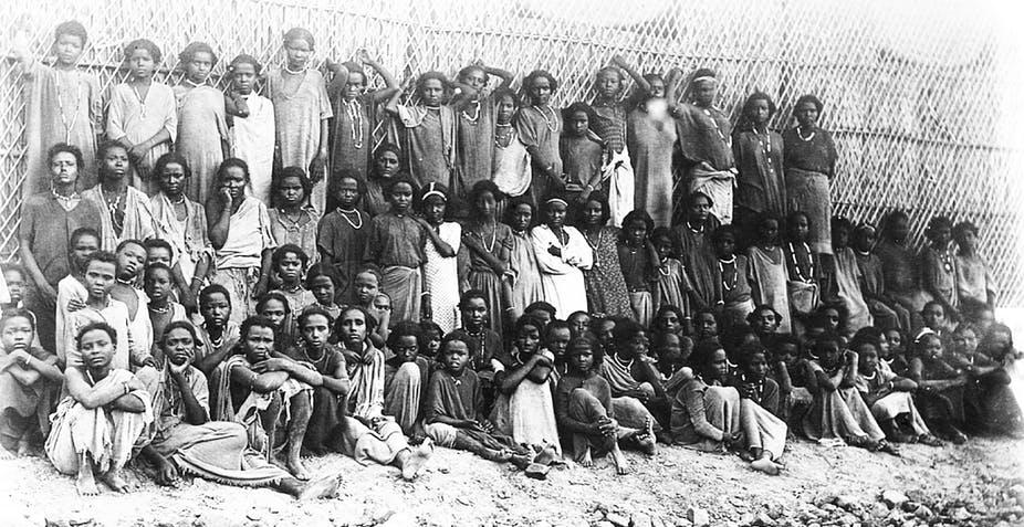 Ethiopia history: Oromo slaves for Arabia taken to South Africa