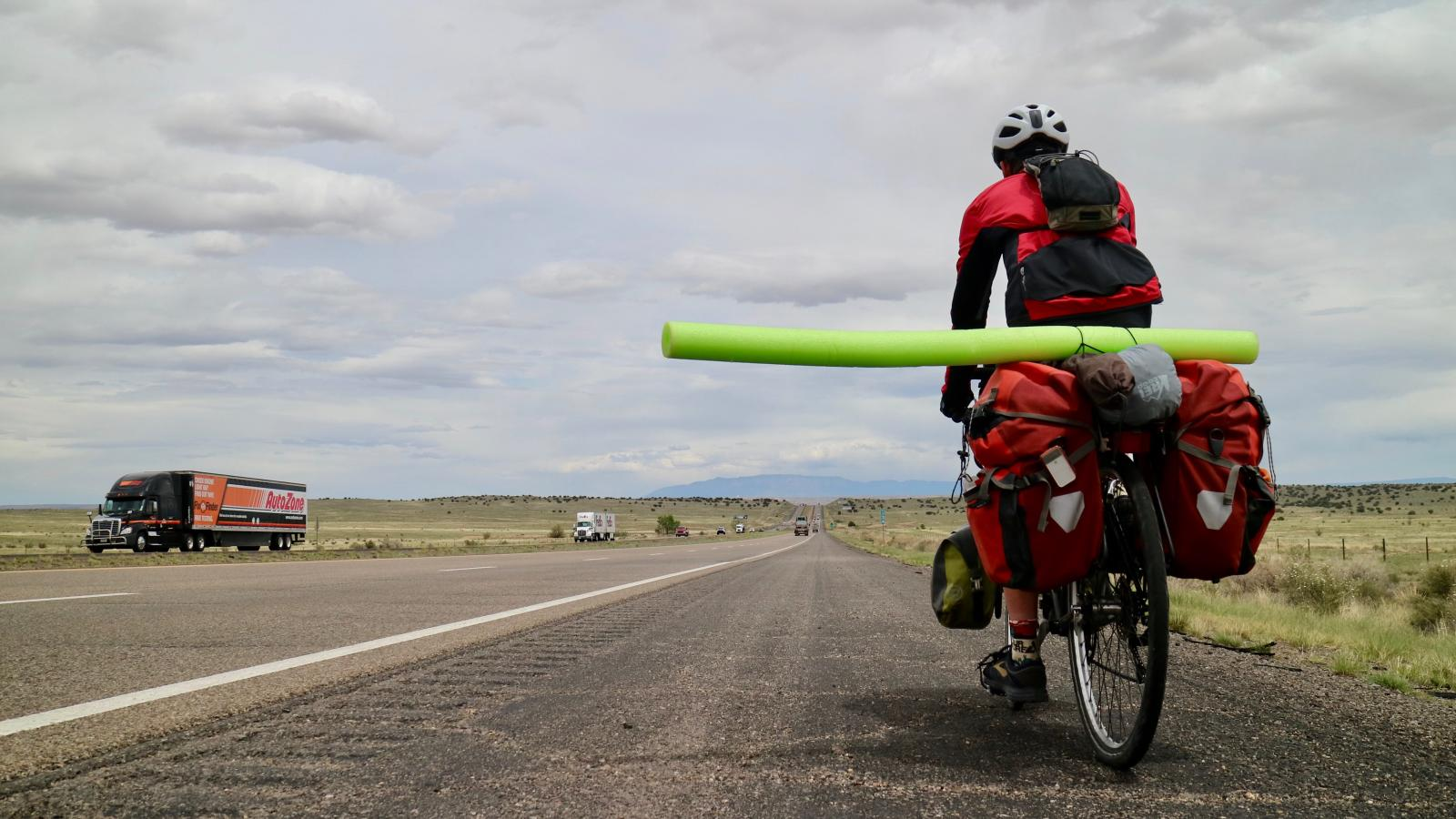 The Best Cycling Hack Is A Pool Noodle Quartz