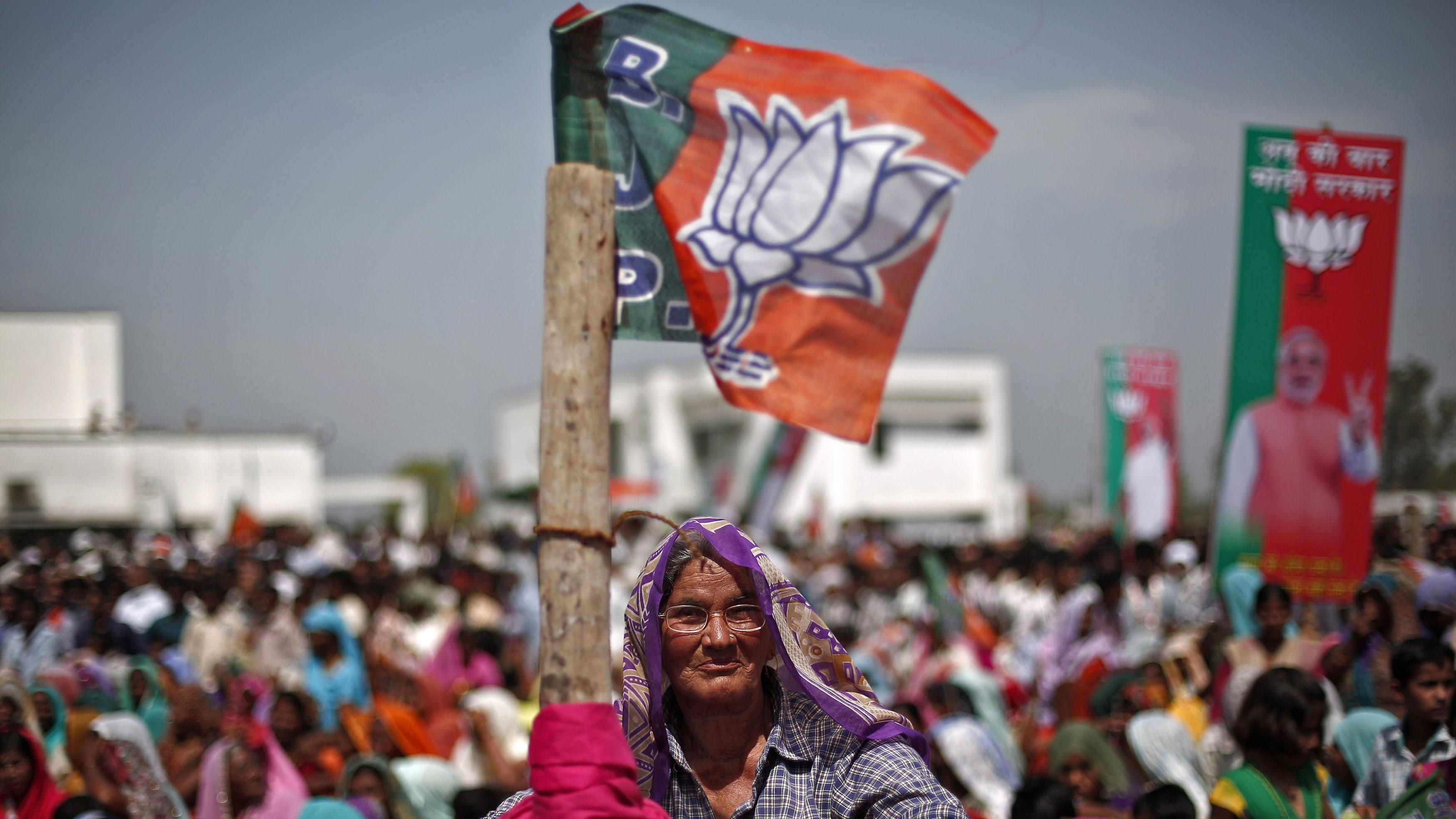 Lok Sabha votes: BJP beat Congress in Chhattisgarh, Rajasthan, MP