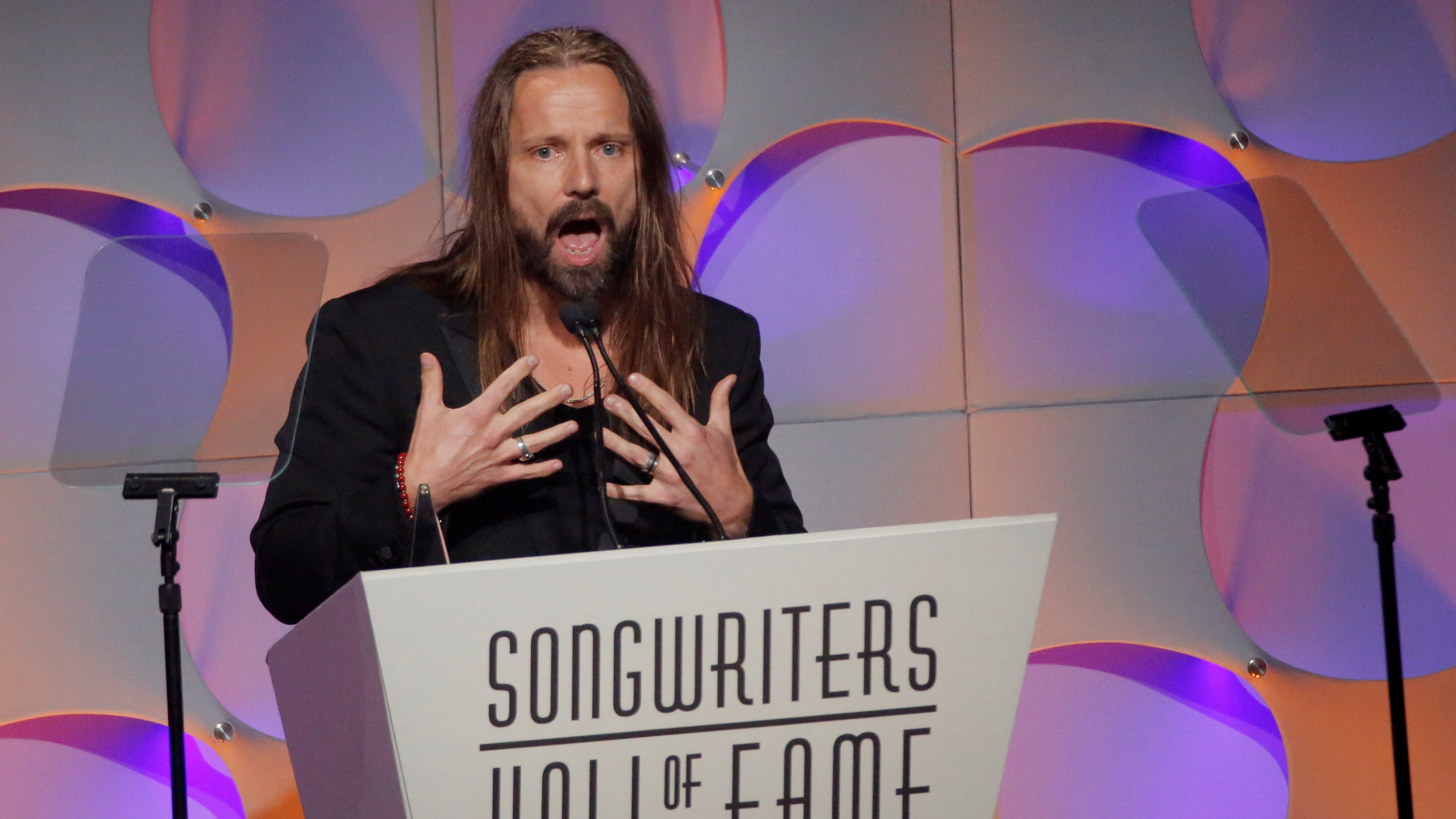 Max Martin being inducted in the songwriters Hall of Fame.