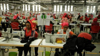 Ethiopian garment workers for Levi's and H&M are the lowest