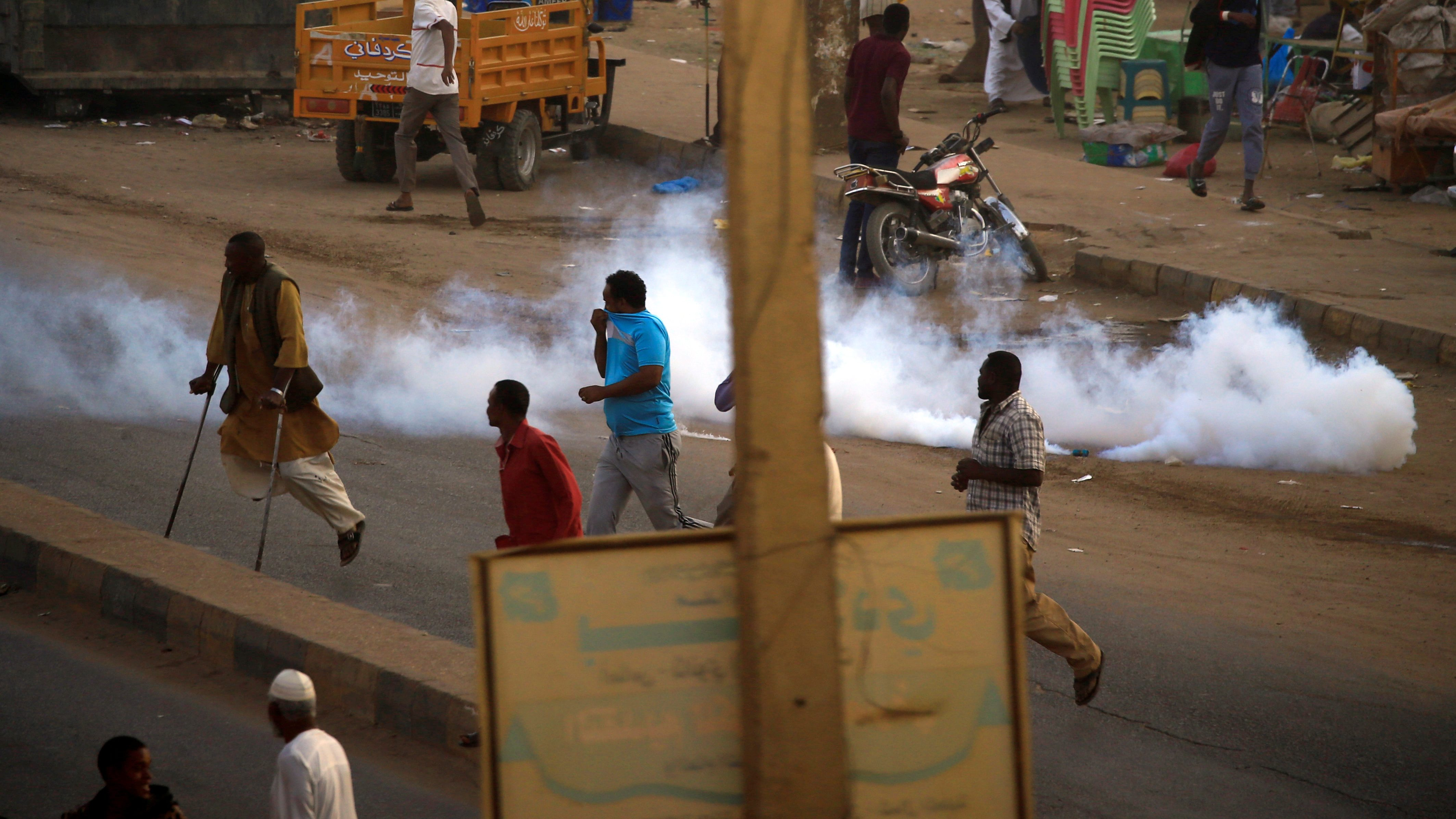 Sudan's uprising protesters are victims of tear gas abuse
