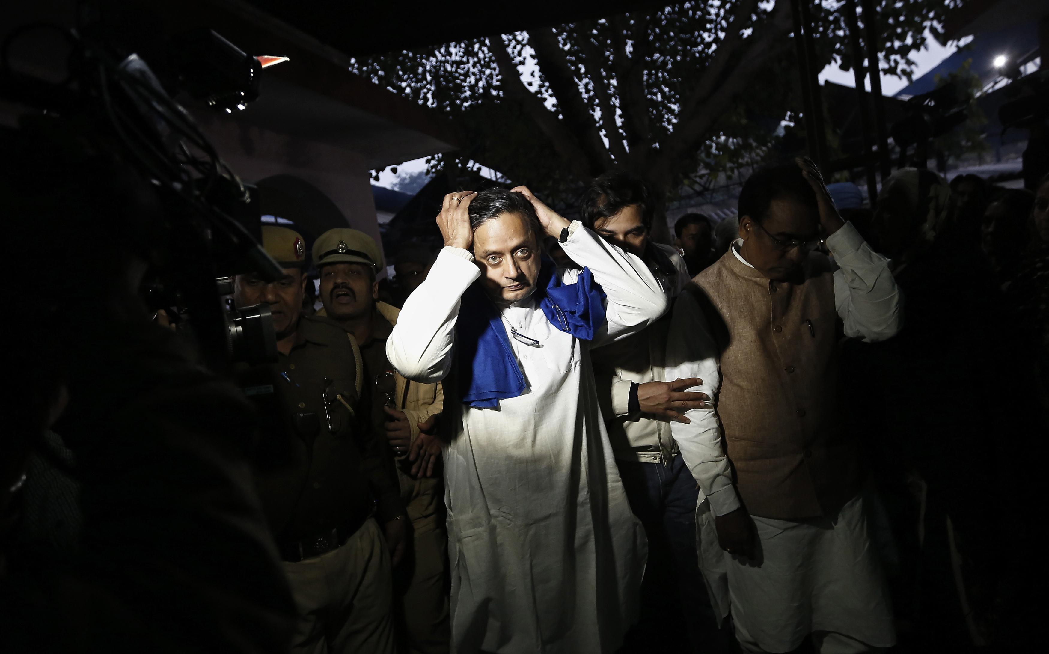 India-Election-Thiruvananthapuram-Shashi Tharoor