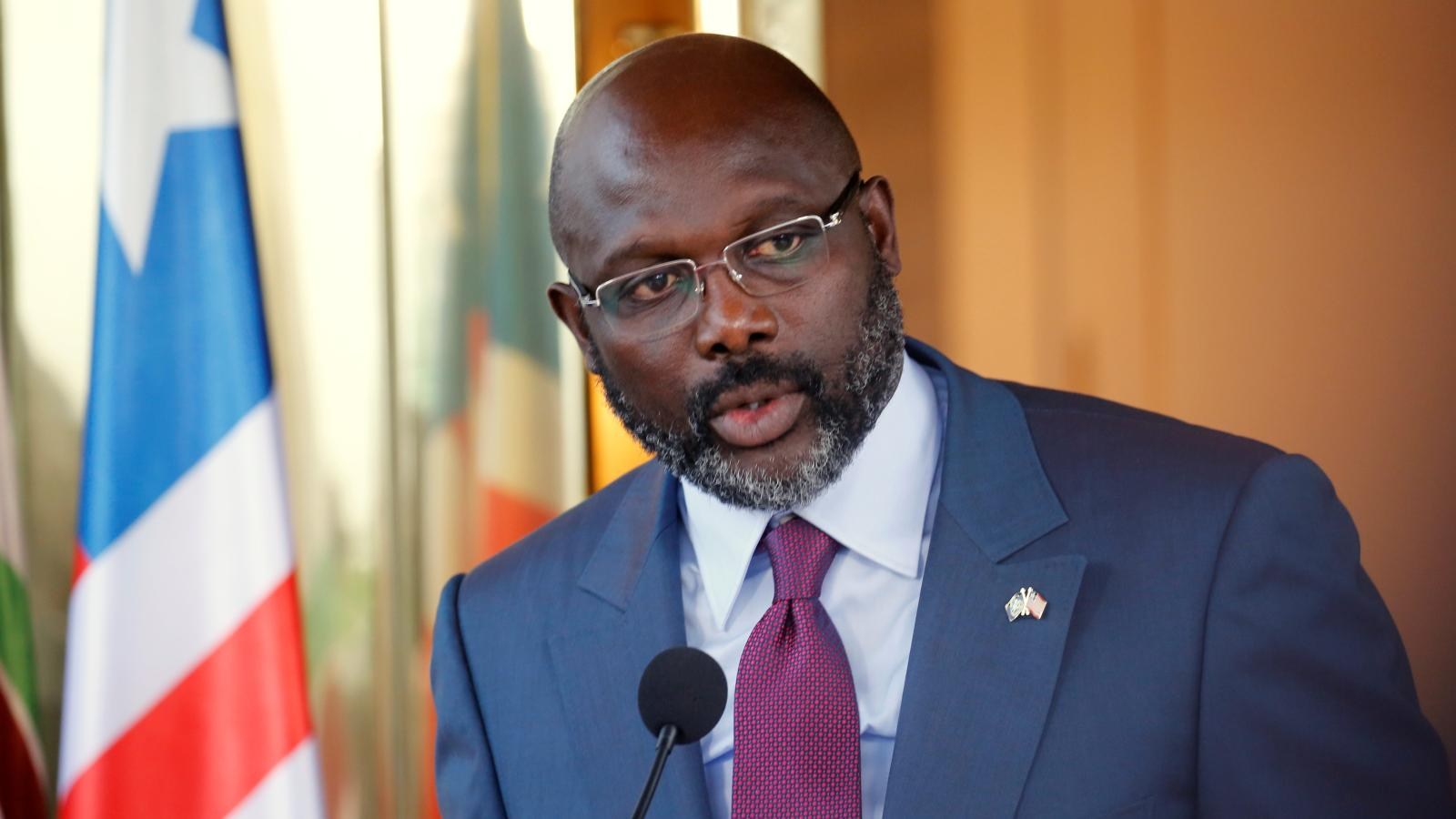 Liberia's George Weah is struggling with a sinking economy