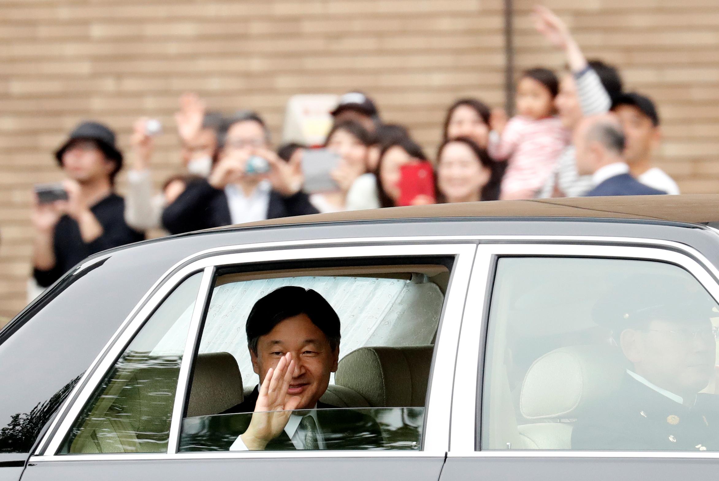 Japan's new Emperor Naruhito