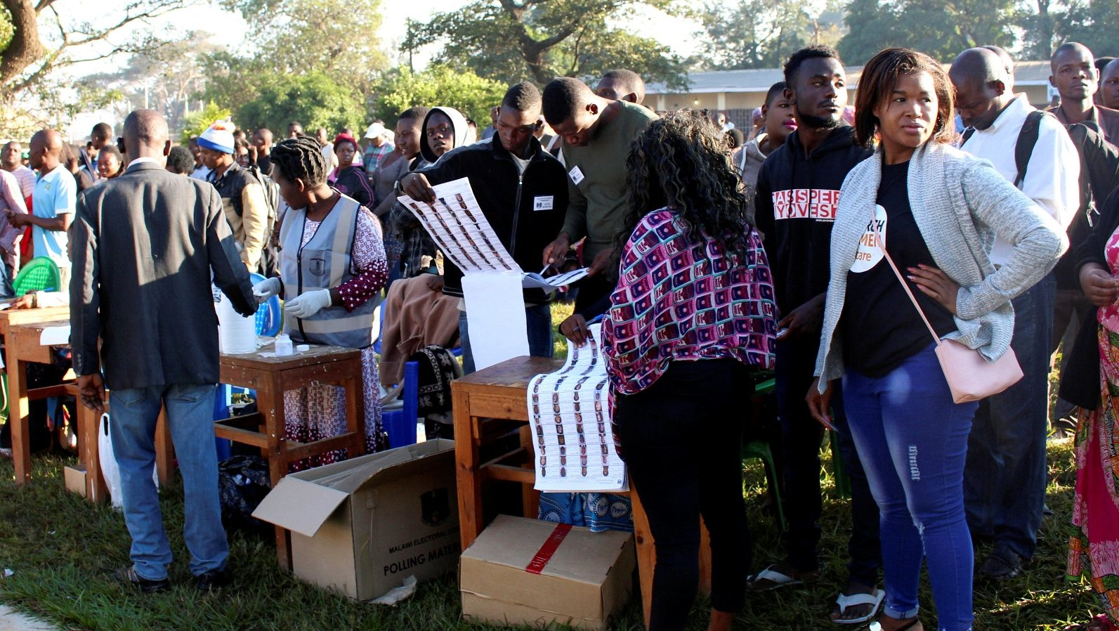 Malawi's election results delayed after voter forgery claims