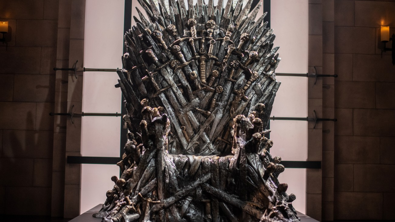 "The throne on ""Game of Thrones"""