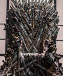 The throne on