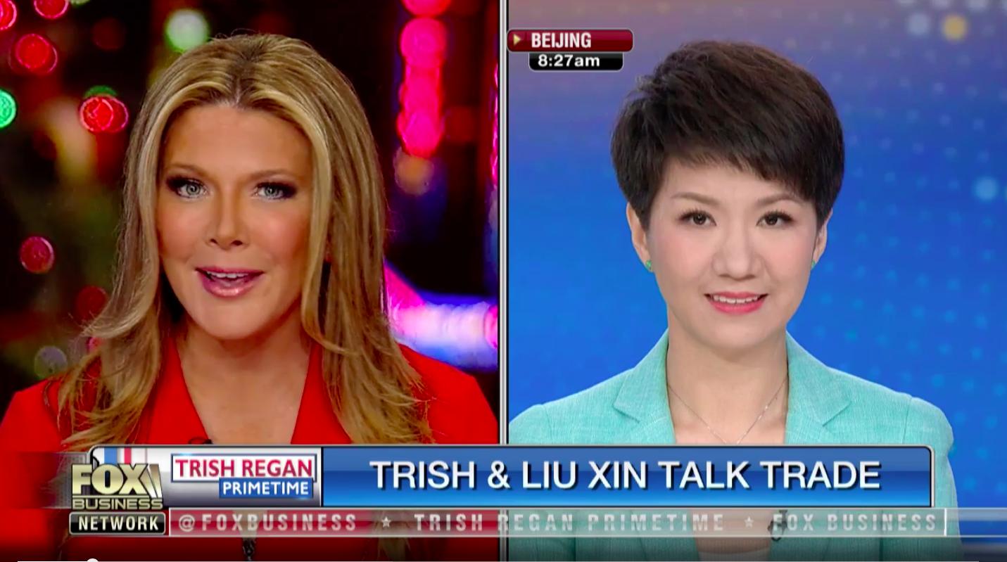 Recap Foxs Trish Regan And Chinas Liu Xin Debate Trade War Quartz
