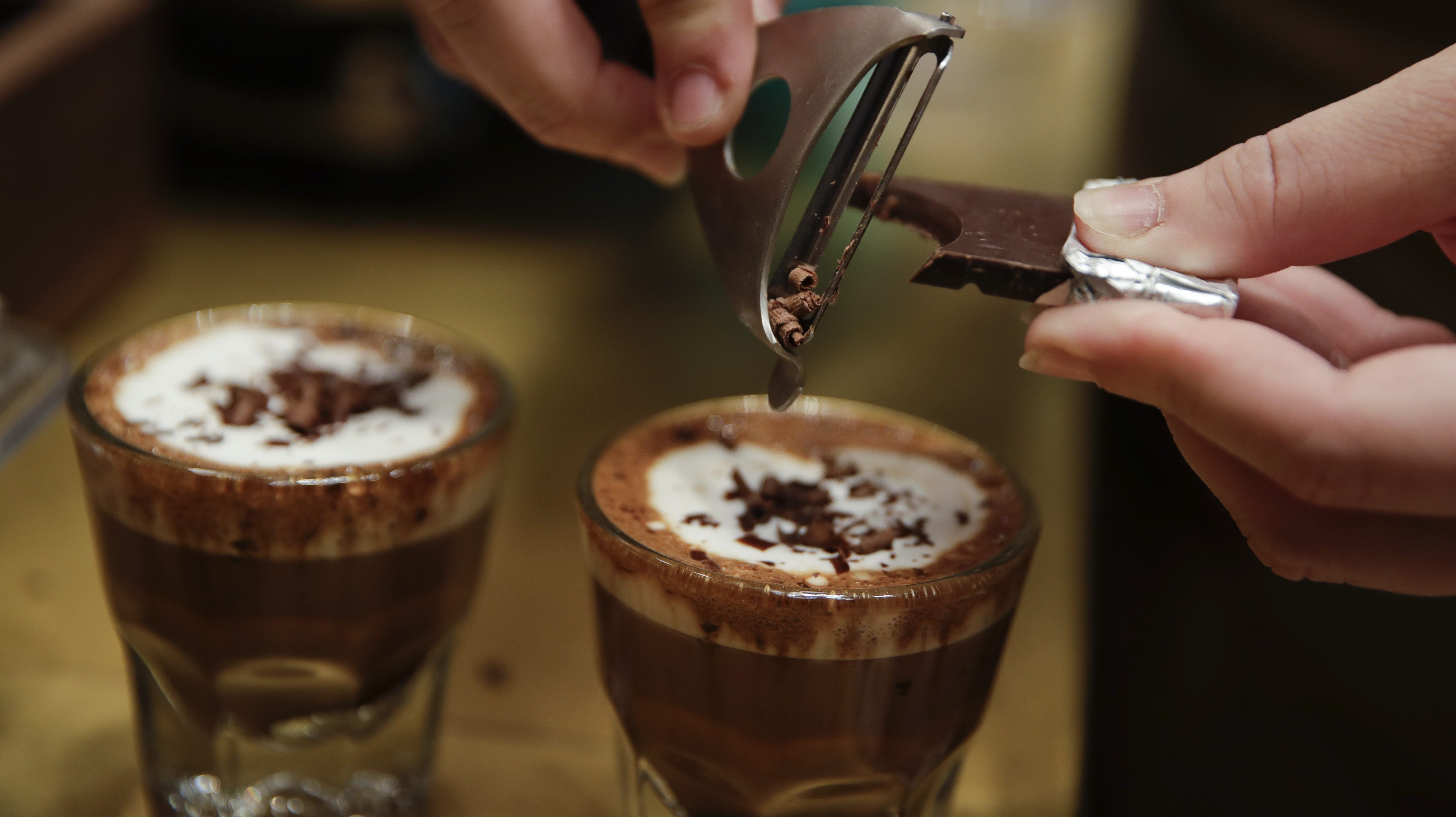 Thinking about coffee may improve your focus, study says