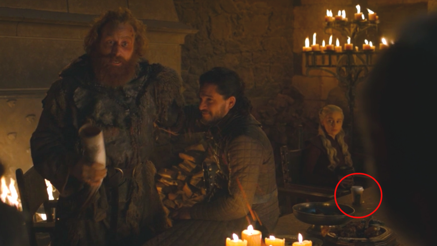 """The """"Game of Thrones"""" Starbucks cup, """"explained"""""""