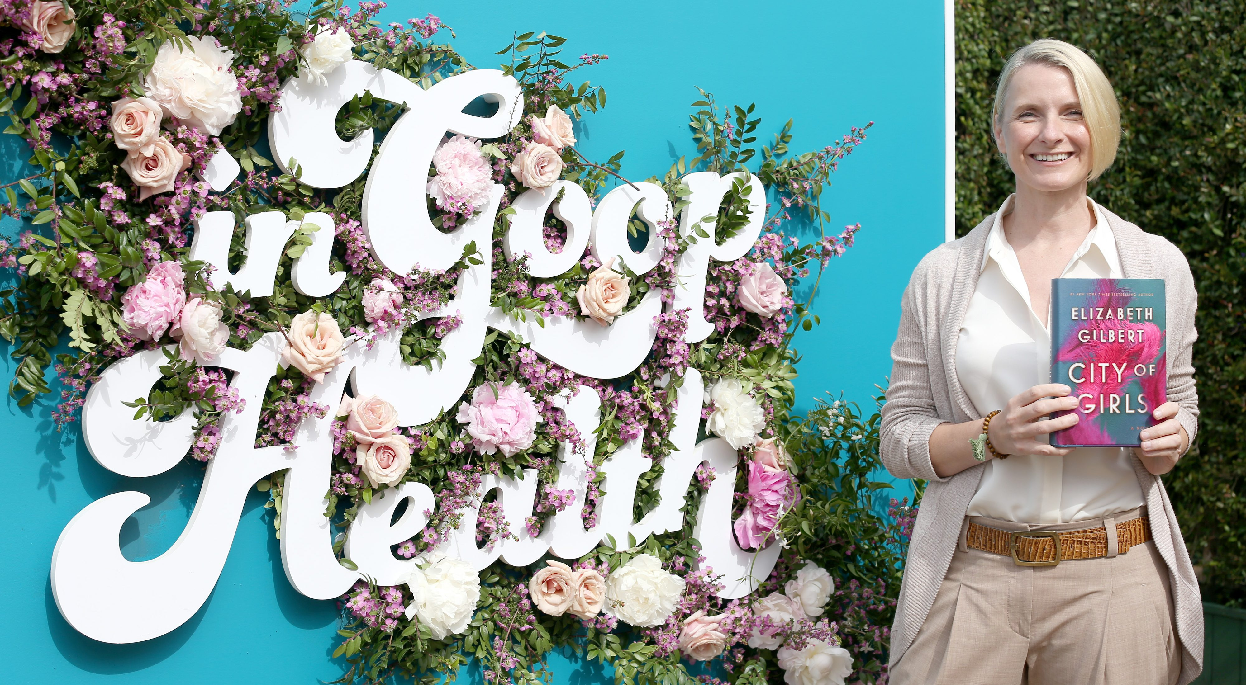LOS ANGELES, CALIFORNIA - MAY 18: Elizabeth Gilbert attends In goop Health Summit Los Angeles 2019 at Rolling Greens Nursery on May 18, 2019 in Los Angeles, California. (Photo by Phillip Faraone/Getty Images for goop)