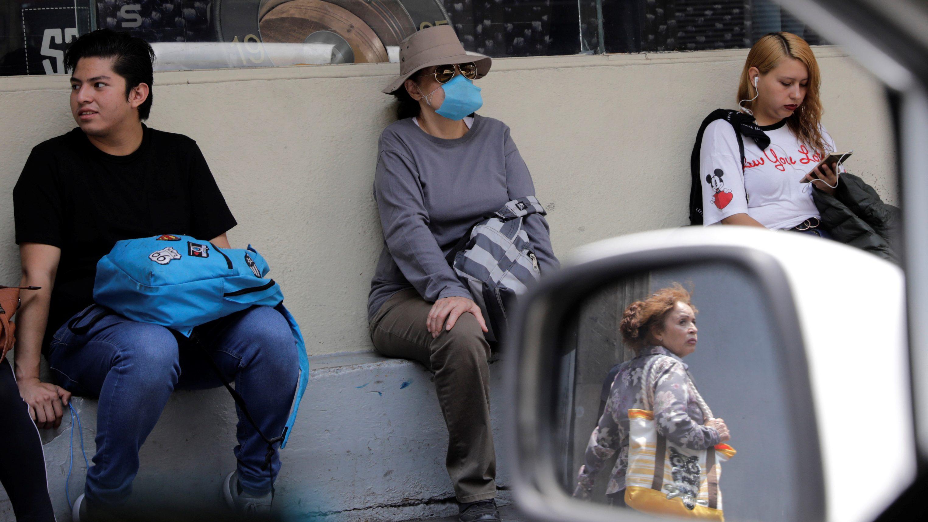 Mexico wildfires Mexico City air pollution