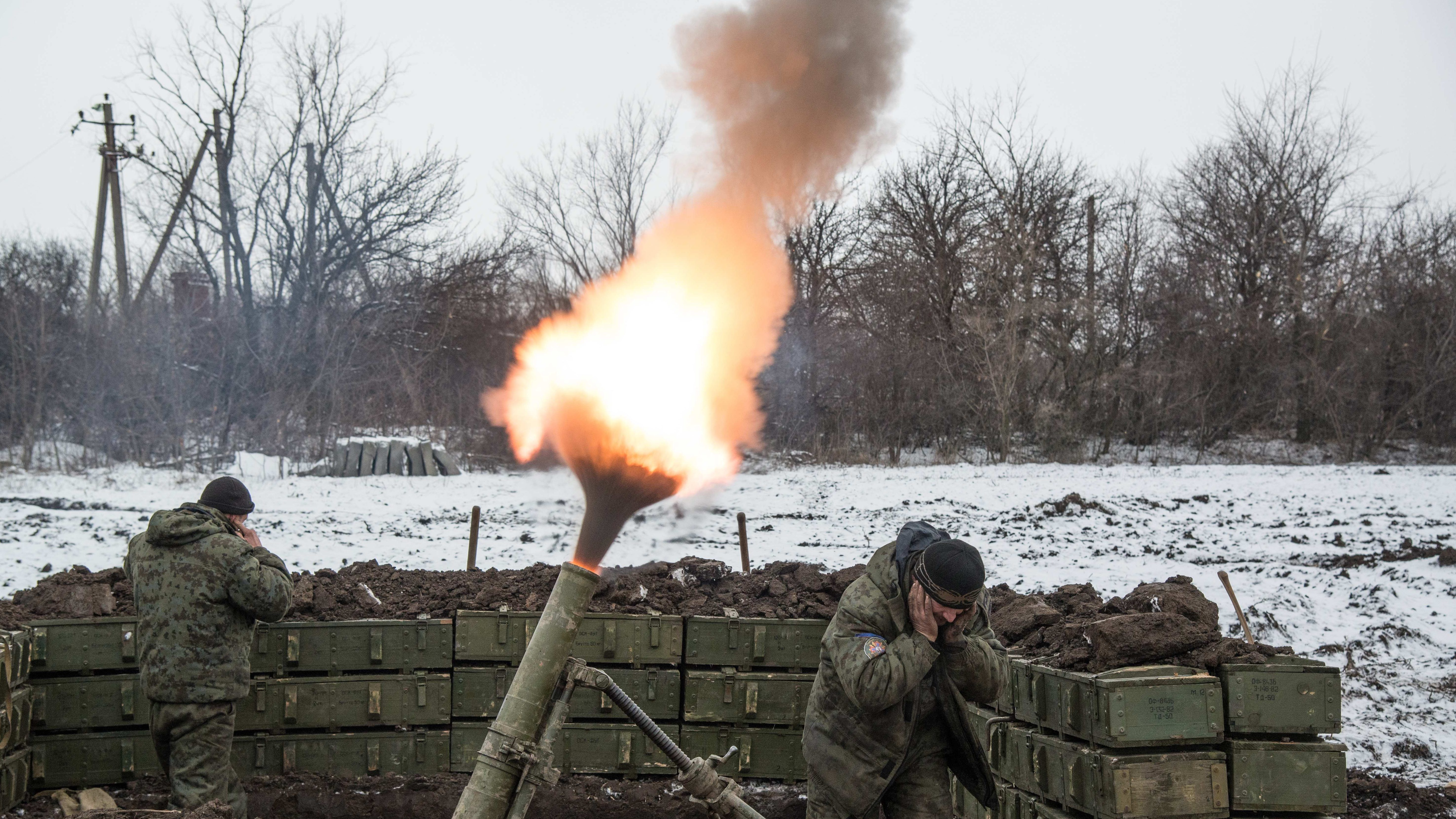 Russian silent mortar