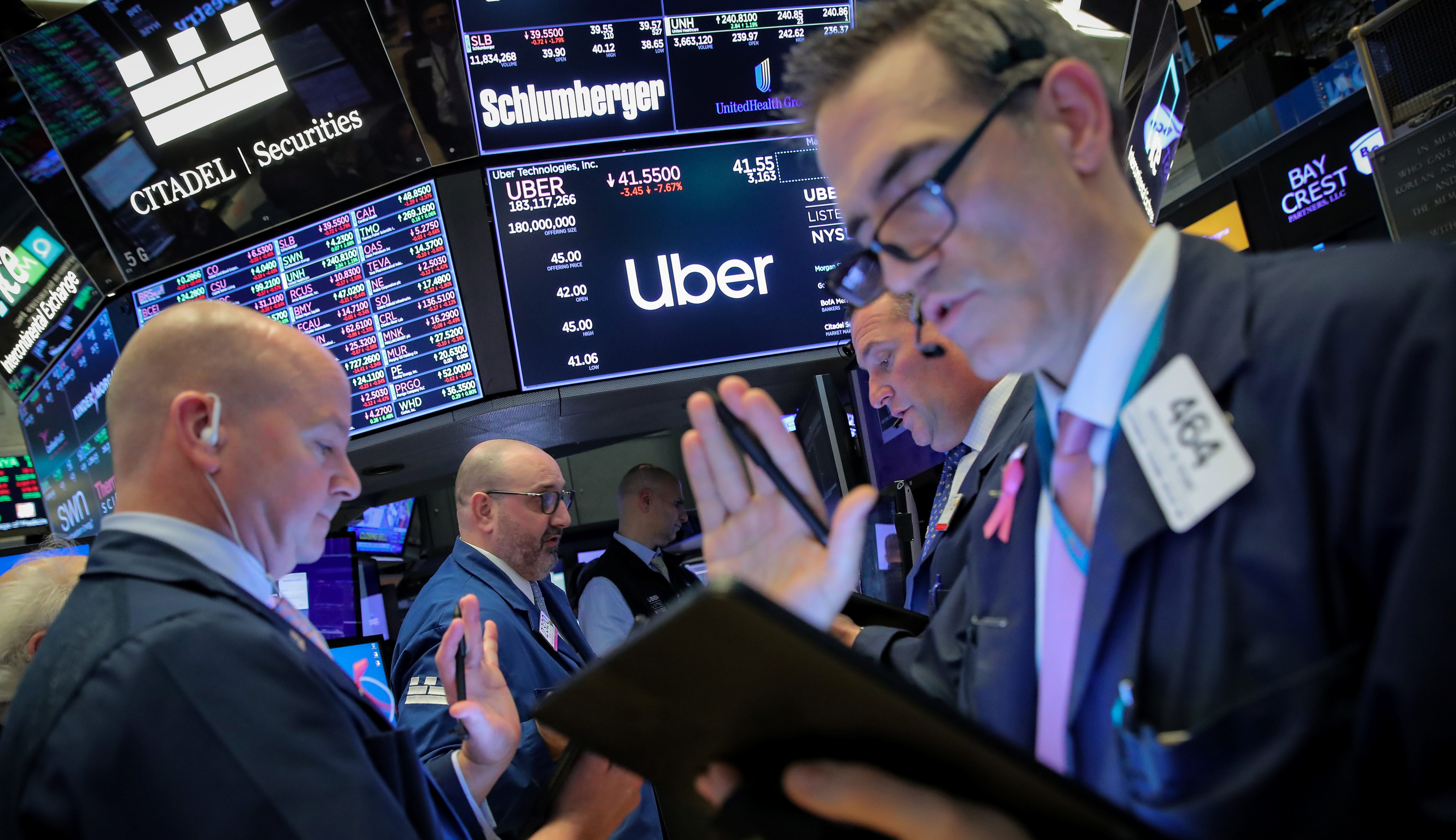 Uber falls to lowest valuation since July 2015 two days