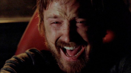 Jesse Pinkman gets one last cry in