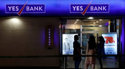 Why Yes Bank's share price halved on BSE, while Sensex held up