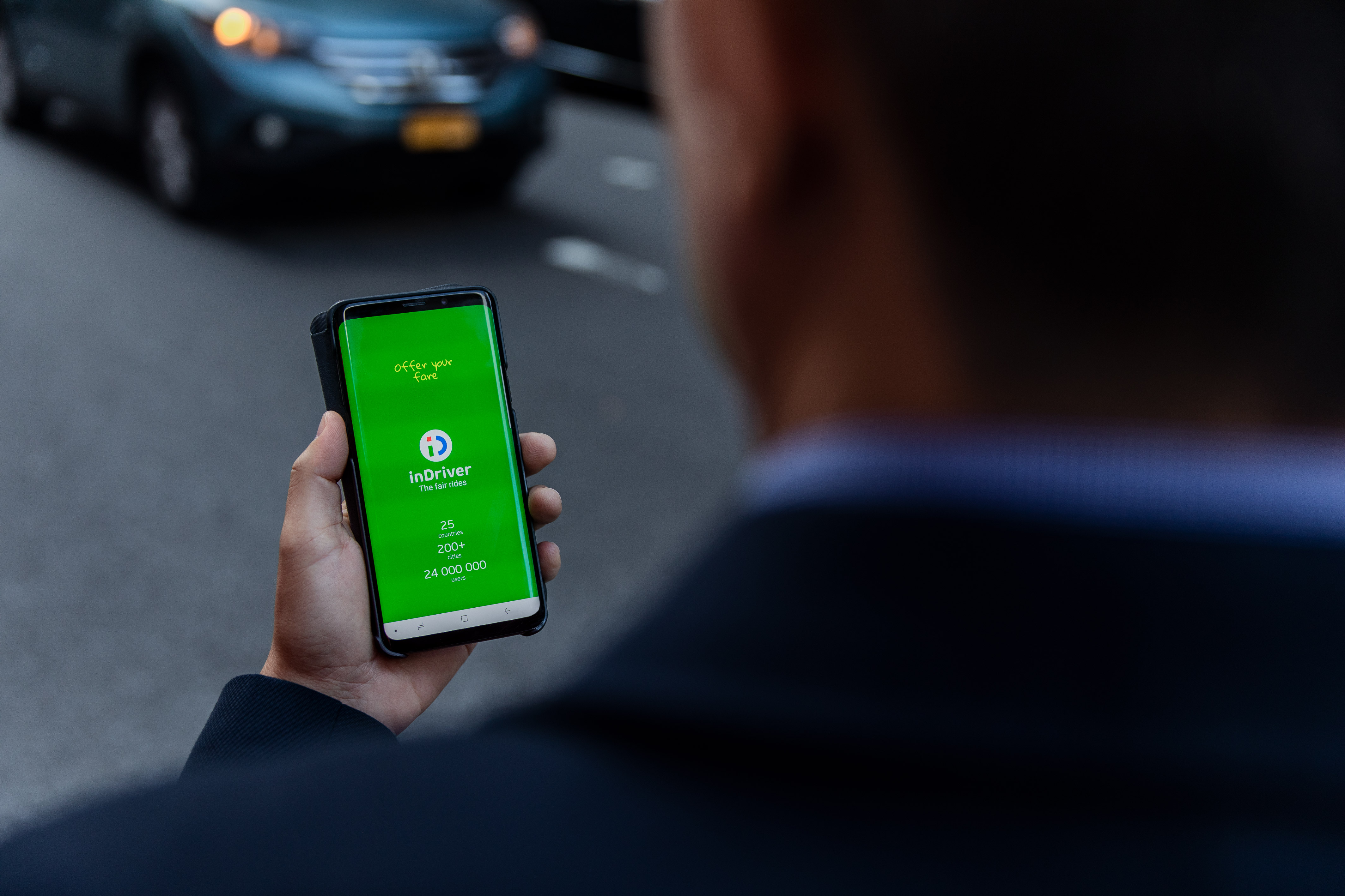 Uber, Bolt face a Russian ride-hailing taxi rival, inDriver