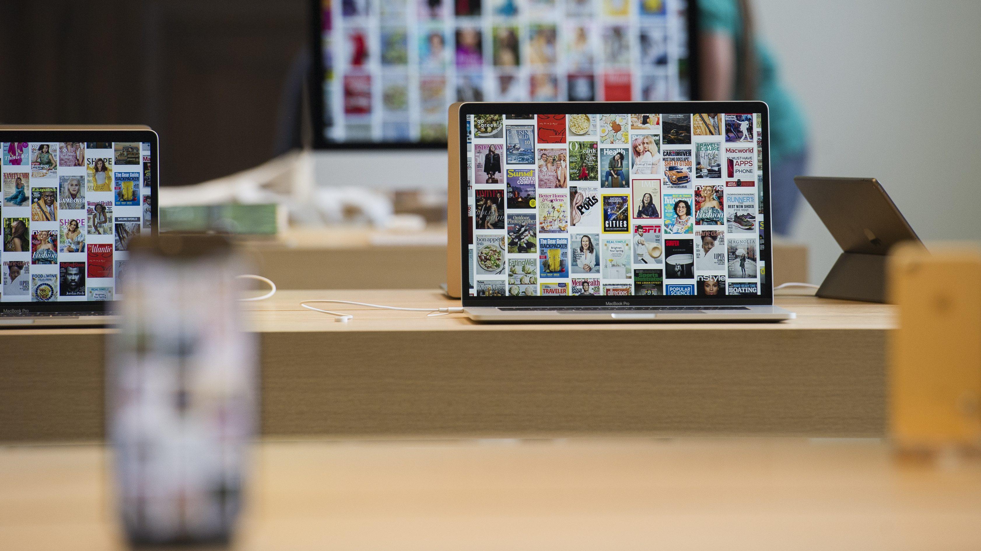 Apple iPhones and Macs