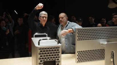 Tim Cook and Jony Ive of Apple