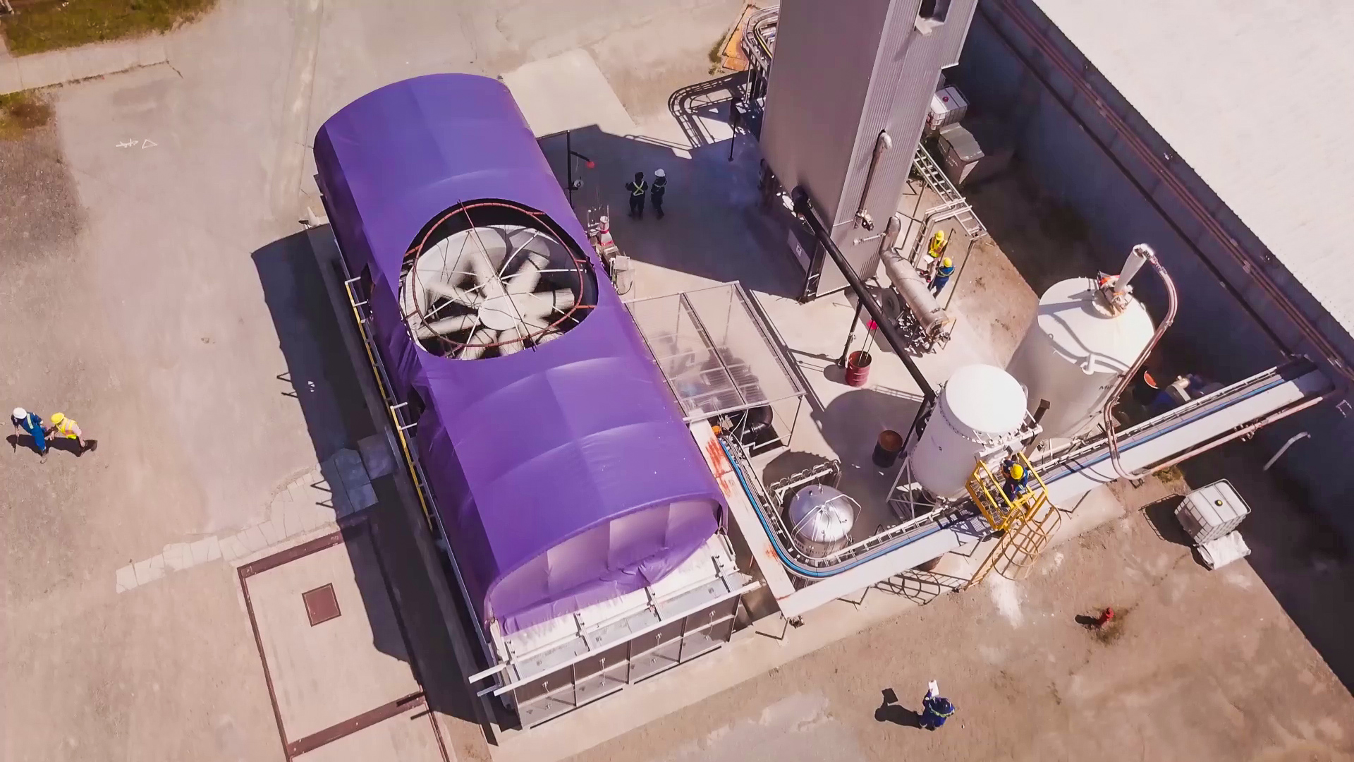 The story behind the world's first large direct air capture