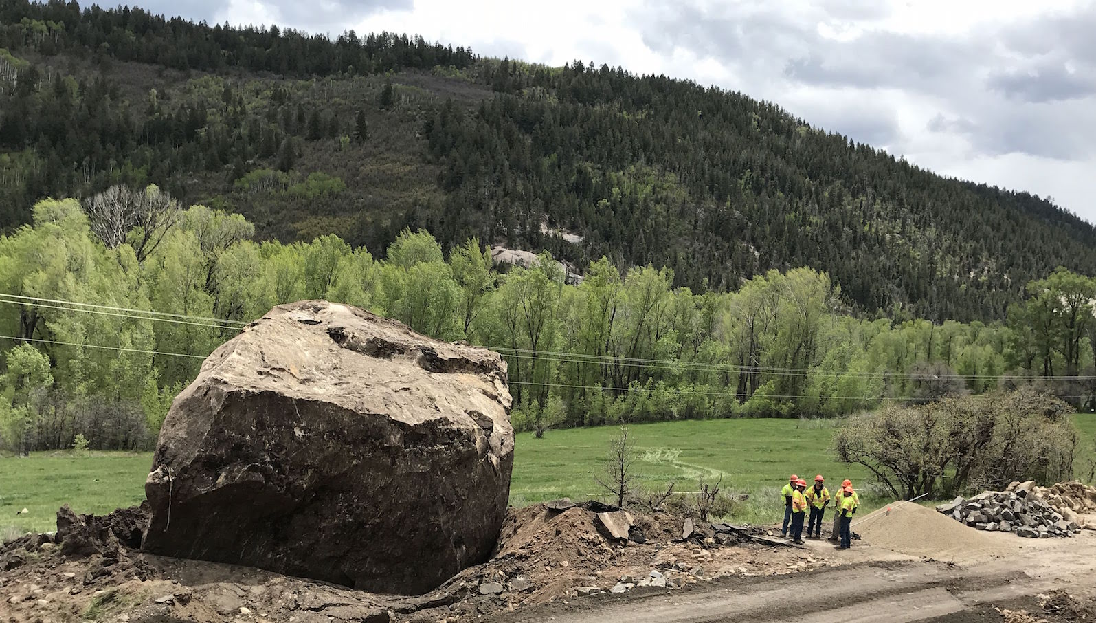 Memorial Rock in Colorado