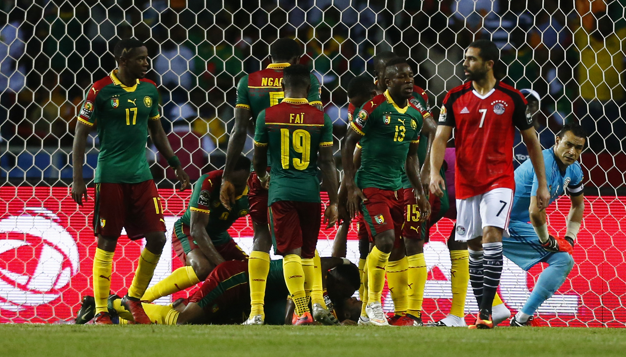 Cameroon, Nigeria AFCON teams protest unpaid football bonuses